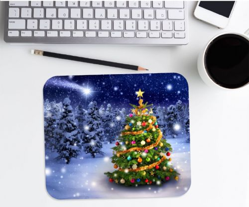 Christmas Tree Mouse Mat PC Computer Pad N5